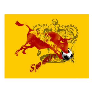 La Furia España Toro Artwork gifts and tees Postcard
