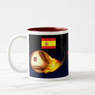 La Furia Roja de España Taza