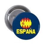 La Furia Roja Futbol de Espana España Pin Redondo De 2 Pulgadas