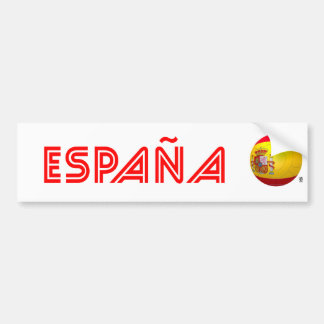 La Furia Roja - fútbol de España Pegatina Para Auto