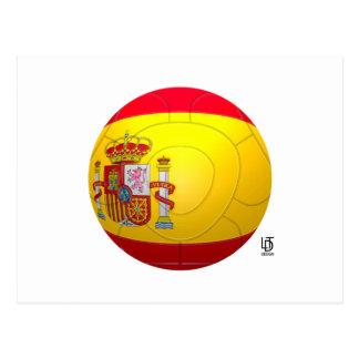 La Furia Roja - fútbol de España Tarjetas Postales