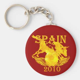 La Furia Roja Spain 2010 keychain for fans