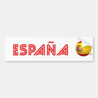 La Furia Roja – Spain Football Bumper Sticker