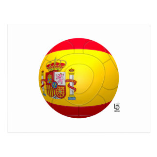 La Furia Roja – Spain Football Postcard