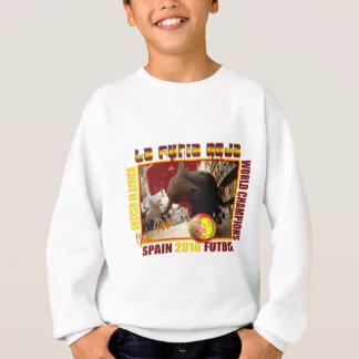 La Furia Roja Spanish Bull Soccer Futbol Sweatshirt