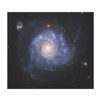 La galaxia 101 NGC más sucios 5457 del molinillo d Impresiones En Lona
