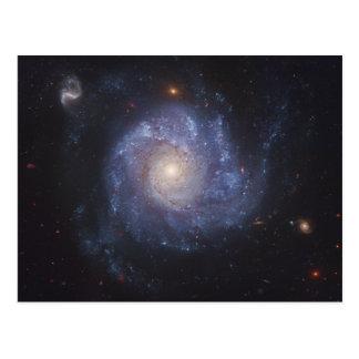 La galaxia 101 NGC más sucios 5457 del molinillo Postal