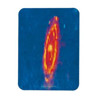 La galaxia 2 del Andromeda Imán Foto Rectangular