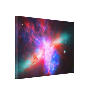 La galaxia activa del cigarro - 82 más sucios impresiones de lienzo