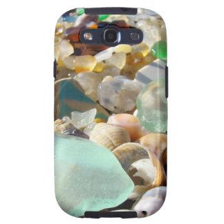 La galaxia de cristal de Samsung del mar de las ág Samsung Galaxy S3 Coberturas