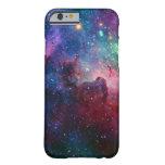 La galaxia de la nebulosa protagoniza el caso del funda de iPhone 6 slim
