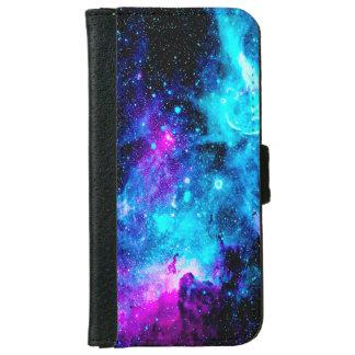 La galaxia de la nebulosa protagoniza la caja funda cartera para iPhone 6