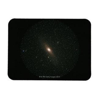 La galaxia del Andromeda Imanes Rectangulares