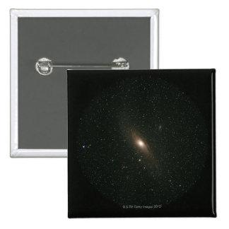 La galaxia del Andromeda Pin Cuadrado