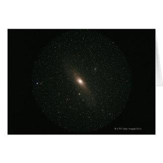 La galaxia del Andromeda Felicitación