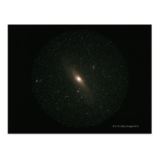 La galaxia del Andromeda Tarjeta Postal