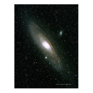 La galaxia del Andromeda Tarjetas Postales