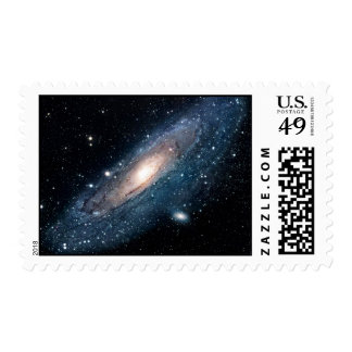 La galaxia del Andromeda y el M31 Sello