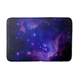 La galaxia del espacio exterior/el tinte azul de