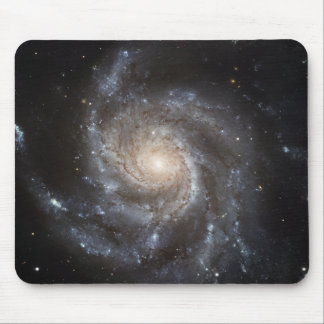 La galaxia del molinillo de viento alfombrilla de raton