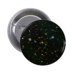 La galaxia distante estalla con las estrellas pin redondo 5 cm