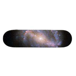 La galaxia espiral barrada NGC 6217 Patineta Personalizada