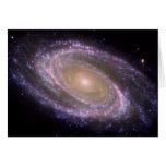La galaxia M81 es bonita en rosa Felicitacion