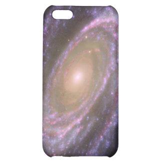 La galaxia M81 es bonita en rosa