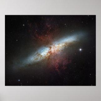 La galaxia magnífica de Starburst, 82 más sucios ( Impresiones