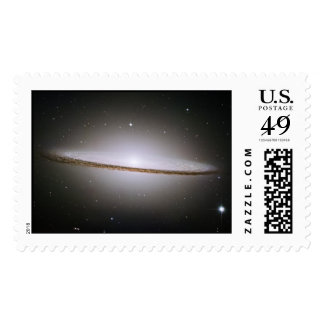 La galaxia majestuosa del sombrero (M104) Sellos