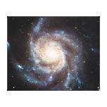 La galaxia NGC 5457 101 más sucios del molinillo d Impresion De Lienzo