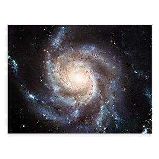 La galaxia NGC 5457 101 más sucios del molinillo Postal