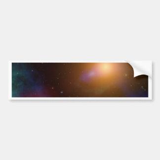 La galaxia pegatina para auto