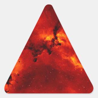 La galaxia pegatina triangular