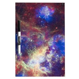 La galaxia pizarra blanca