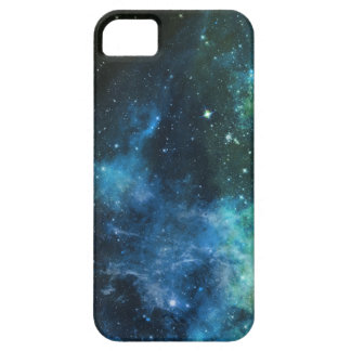La galaxia protagoniza el caso del verde azul 5/5S iPhone 5 Carcasas