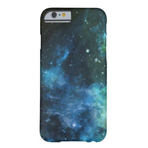 La galaxia protagoniza verde azul del iPhone de la Funda De iPhone 6 Barely There