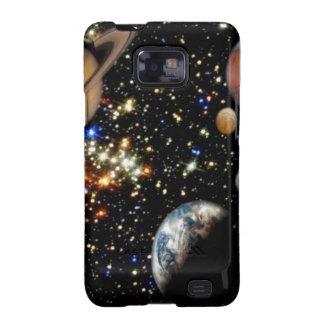 La galaxia Samsung de los planetas del espacio Galaxy SII Funda
