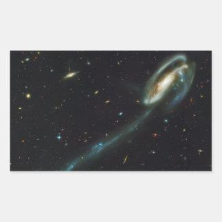 La galaxia UGC 10214 del Tadpole Pegatina Rectangular