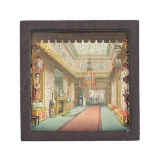 La galería china de vistas del Pavi real Caja De Recuerdo De Calidad