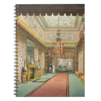 La galería china, de 'vistas del Pavi real Libro De Apuntes Con Espiral