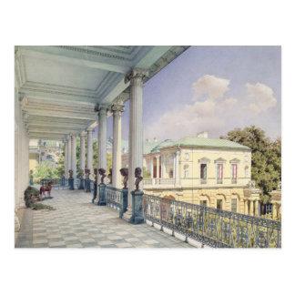 La galería de Cameron en Tsarskoye Selo, 1859 Tarjetas Postales