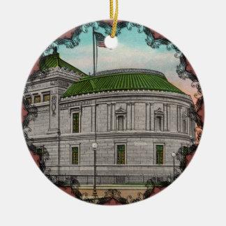 La galería de Corcoran del ornamento del arte Adornos De Navidad