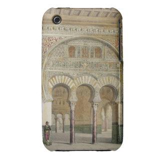 La galería de la corte de leones en Alhambra, Case-Mate iPhone 3 Protectores