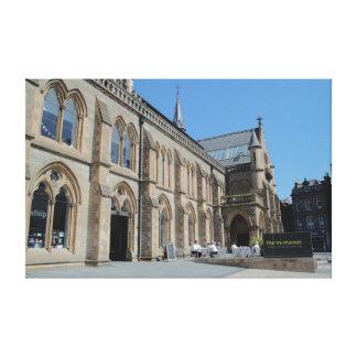 La galería y el museo de arte de McManus Impresión En Lona Estirada