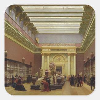 La Galerie Campana, 1866 Square Sticker