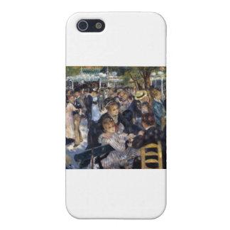 La Galette de Le Moulin de Pedro Auguste Renoir iPhone 5 Carcasas