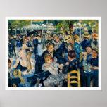 La Galette de Le Moulin de por Renoir Posters