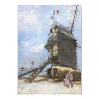 """La Galette de Le Moulin de Vincent van Gogh Invitación 5"""" X 7"""""""