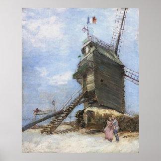 La Galette de Le Moulin de Vincent van Gogh Posters